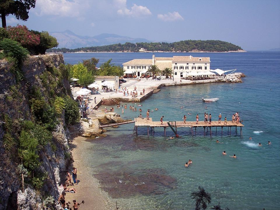 Tolle Sehenswürdigkeiten – Korfu ist eine Reise wert.