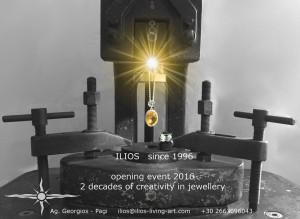 20 Jahre ILIOS – Das Schmuckatelier läd zum Eröffnungsevent ein