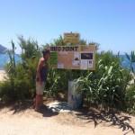Der Info Point in Agios Georgios