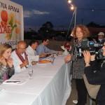 Nudelfest in Arillas: Andrea Grießmann als Jurymitglied
