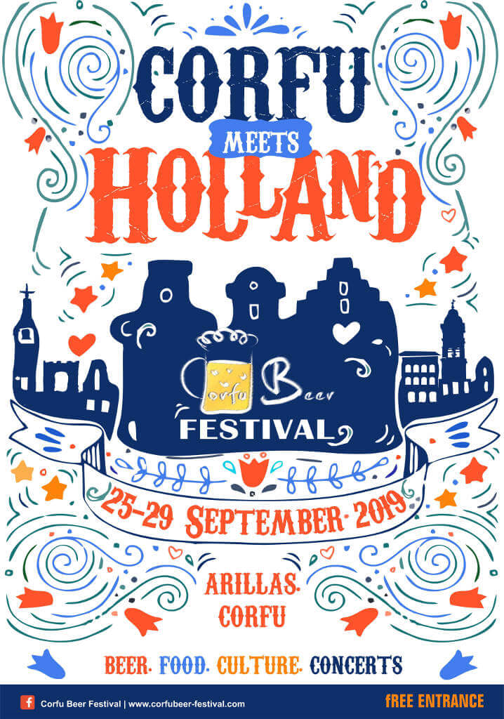 Corfu meets Holland vom 25. bis 29. September