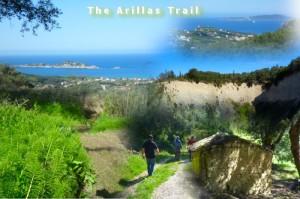 Am Sonntag ist wieder Wandertag in Arillas