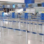 Flughafen leer